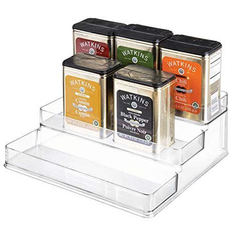 Linus Spice Rack by Interdesign Linus Spice Organizer Rack 3 Tiered Storage