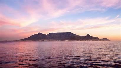 Mountain Cape Town Africa Table South Desktop