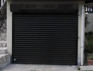 porte garage enroulable homeandgarden With porte de garage enroulable avec porte garage pvc