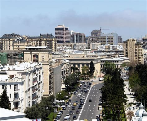 Baku, also known as baky or bakı, is the largest city in the caucasus and the capital of azerbaijan. File:Neftchiler Avenue, Baku, 2010 (2).jpg - Wikimedia Commons