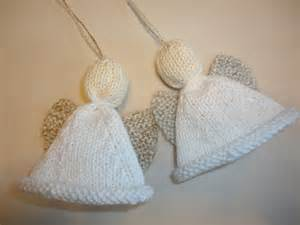 Christmas Angel Ornament Free Pattern Knit