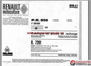 Renault R7201 Parts Catalogue