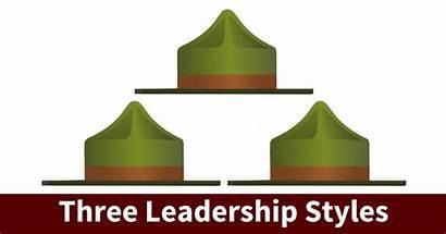 Leadership Types Styles Three Leader Clipart Charisma