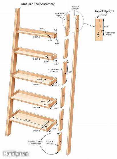 Shelves Diy Build Woodworking Leaning Projects Tower
