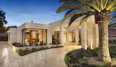 luxury single level house  australia architecture   melbourne house modern mansion