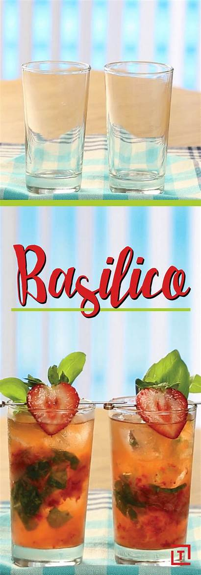 Cocktail Basilico Recipe Basil Drink Cocktails Homemade