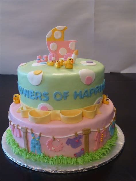 Baby Shower Baby Cake - classic cakes baby shower cakes