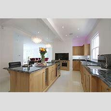 New England Oak Shaker Kitchen  Contemporary  Kitchen