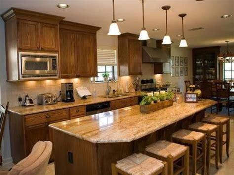 kitchen islands  table seating kitchen  granite