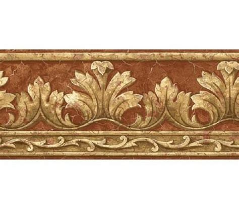Crown Acanthus Leaf  Wallpaper Border  At75162b Art