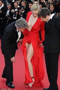 Emmauelle Seigner almost outdoes Eva Longoria flashing ...