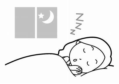 Sleep Coloring Pages Edupics