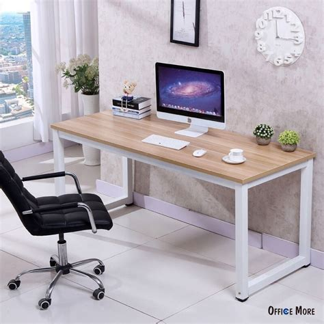 home office table desk computer desk pc laptop table wood workstation study home
