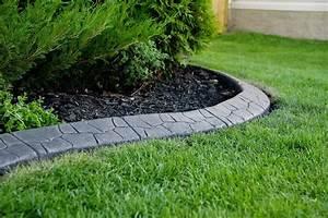 Bordure Beton Jardin : bordures de jardin 40 id es sur les designs les plus ~ Premium-room.com Idées de Décoration