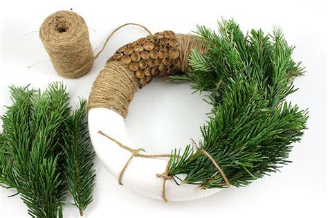 couronne de noel naturelle ghirlanda natalizia naturale perles co