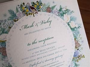 christmas wedding invitations paper pleasures stationery With xmas wedding invitations uk
