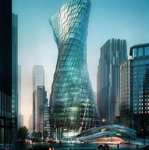 Twisting Tower Shanghai Evolo Architecture Magazine