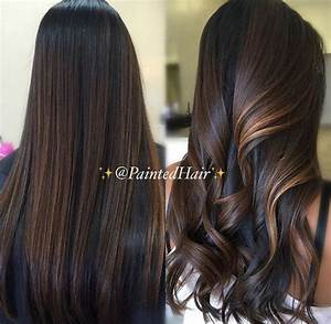 chocolate brown with caramel highlights | h a i r ...