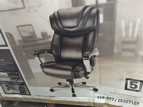 realspace axton big bonded leather and 15 similar items