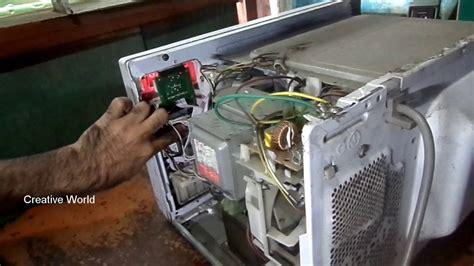 repair microwave   minutes youtube