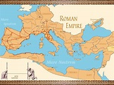Roman Empire Maps | Istanbul Tour Guide