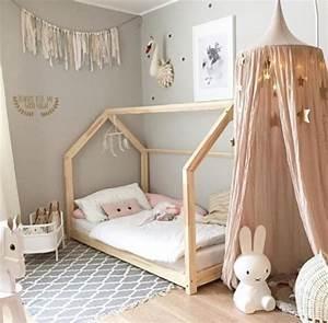 Lit Montessori Cabane : lit cabane montessori pour prioriser la s curit des b b s ~ Melissatoandfro.com Idées de Décoration