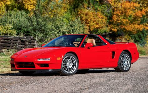 supercharged 1997 acura nsx t 6 speed for sale on bat
