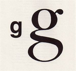 About The Letter G