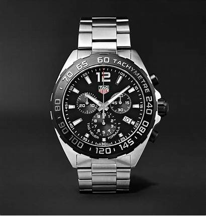 Heuer Tag Formula Steel Chronograph Stainless 43mm