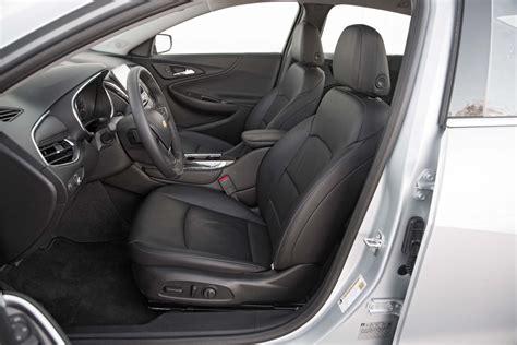 chevrolet malibu  premier front interior seats