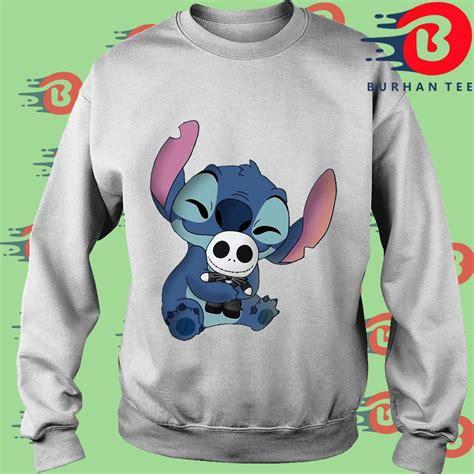 Official Stitch Hug Jack Skellington Shirt, hoodie ...