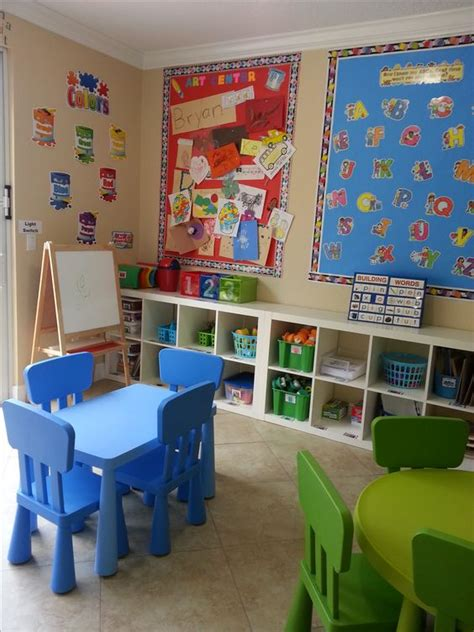 Home Daycare Design Ideas by Two Small Tables Home Daycare Ideas The Place