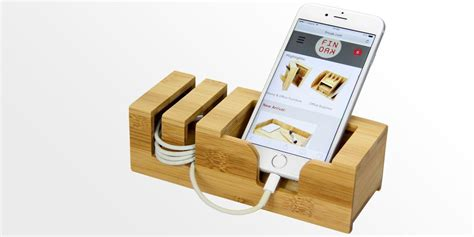 Holder Iring Stand phone holder iphone stand bamboo office supplies