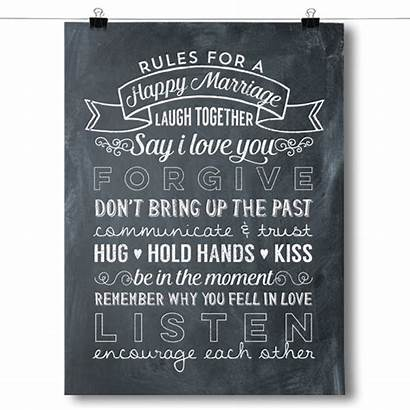 Rules Marriage Happy