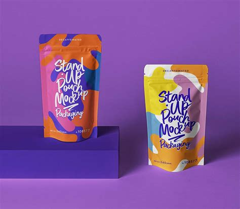 400+ vectors, stock photos & psd files. Free Stand Up Pouch Mockup | Mockuptree