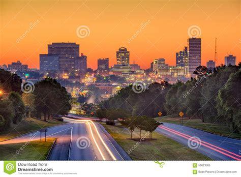 columbia sc skyline stock photo image