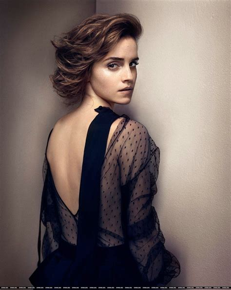 Emma Watson Magazine Photoshoot