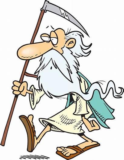Clipart Cartoon Father Clip Cartoons Scythe Wanes