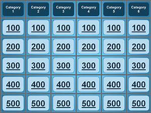 jeopardy powerpoint template With free powerpoint game templates for teachers