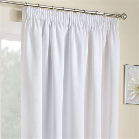 white pencil pleat curtains pencil pleat curtains