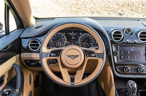 bentley steering wheel bentley bentayga production starts in england