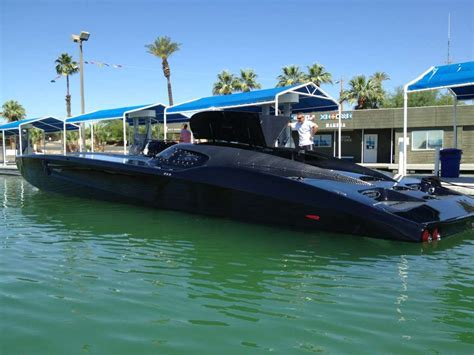 Back Of A Boat by Black Mti Offshore Powerboat Boats Mercury