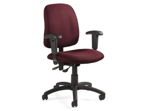 goal office chair with adjustable arms back goa 2375