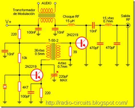 Radio Circuits Blog Crystal Controlled Transmitter