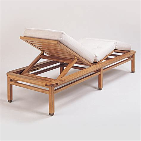 teak furniture paradiso paradiso chaise lounge with