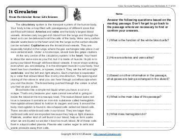 the tell tale heart 8th grade reading comprehension worksheets