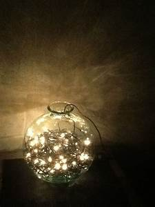 Fairy, Lights, In, A, Vase
