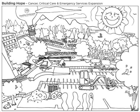 coloring pages construction  coloring  seattle