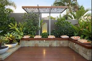 Petit Jardin Moderne : 20 id es pour un petit jardin compact mais charmant ~ Dode.kayakingforconservation.com Idées de Décoration