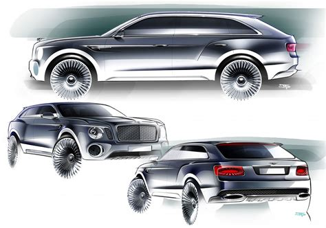 bentley reveals powertrain details  exp   luxury suv
